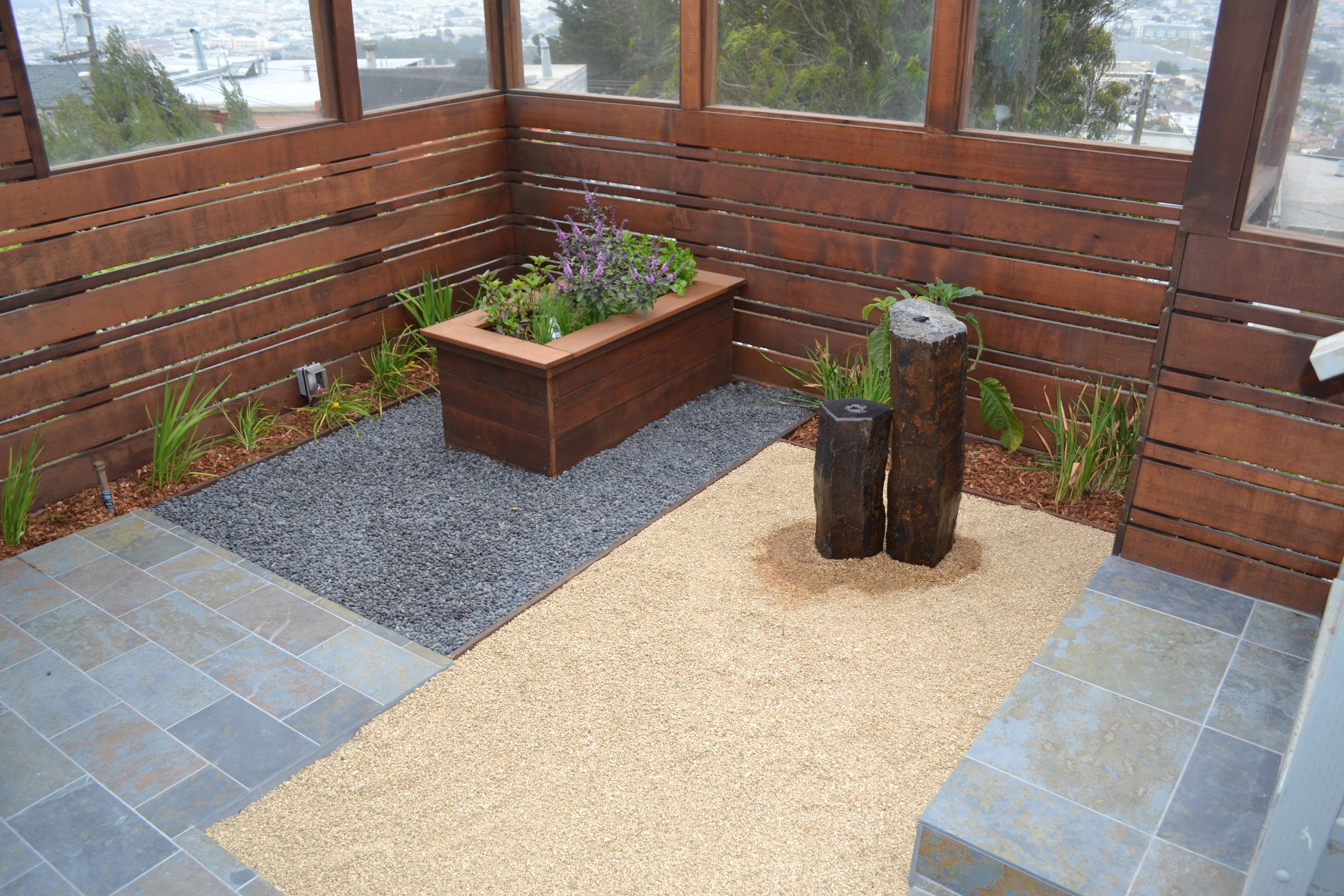 Modern Zen Garden Drought Tolerant Landscape Experts And Gardening Maintenance In The San Francisco Millbrae