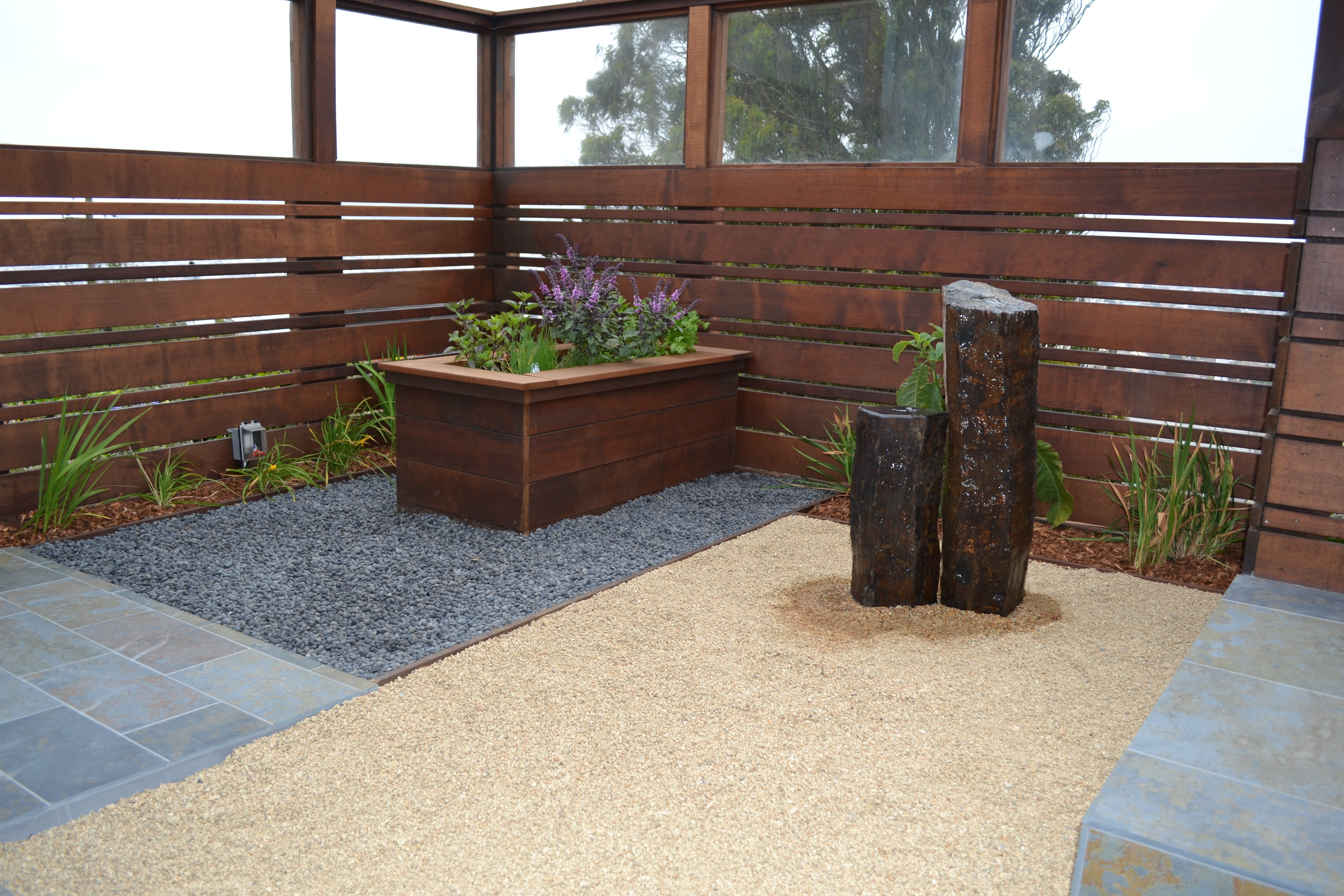 Modern Zen Garden Gentle Giants Gardening